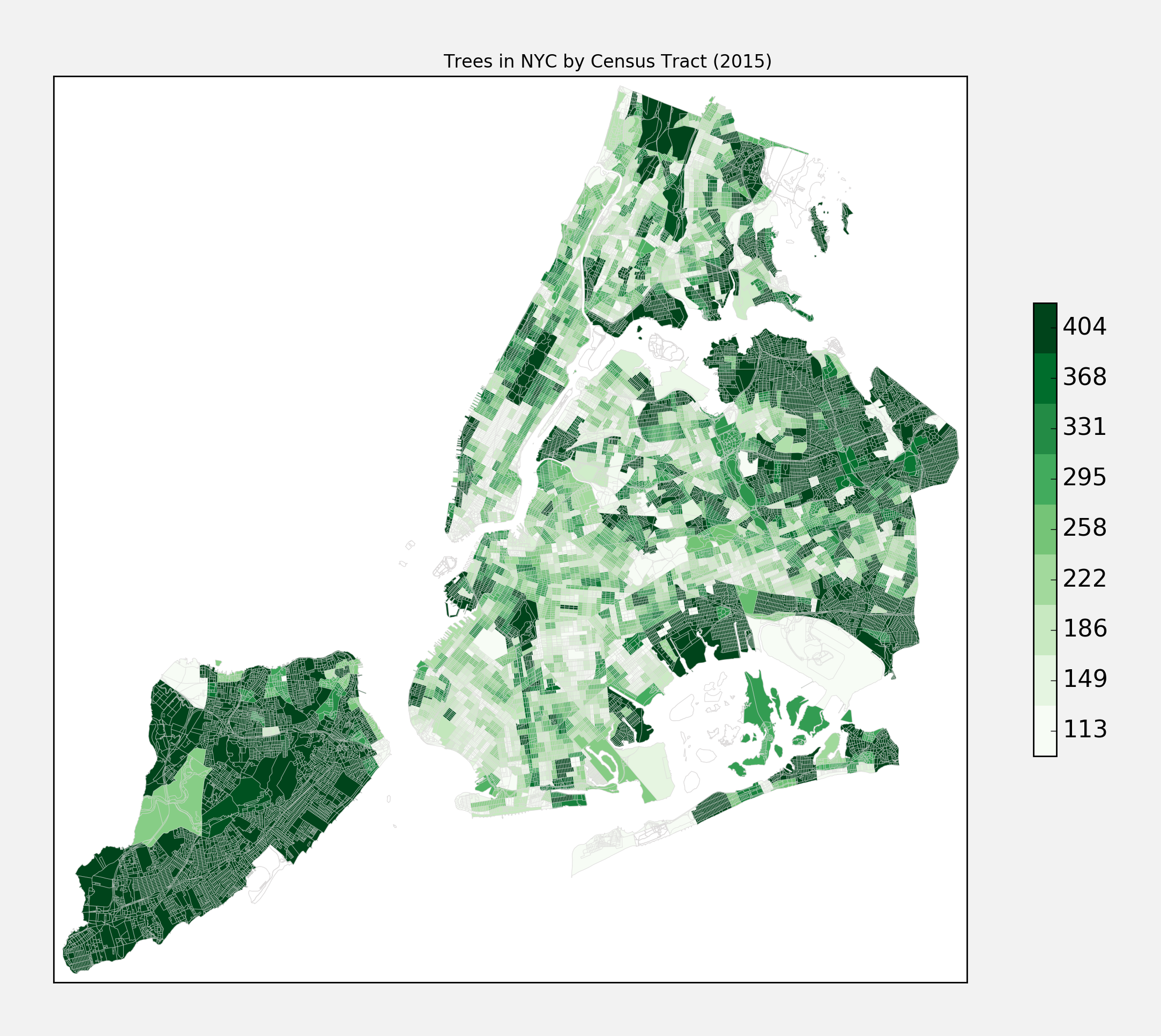Tree Counts NYC 2015